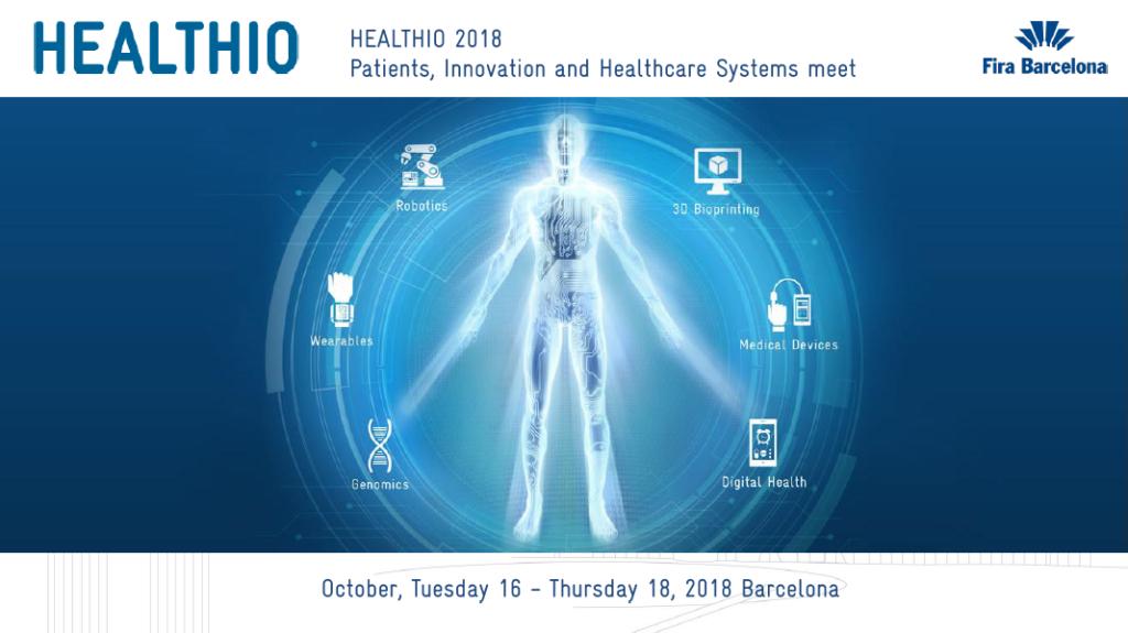 WHI Institute participa en la 2ª edición de Healthio, salón en el que se presentan los últimos avances en sanidad